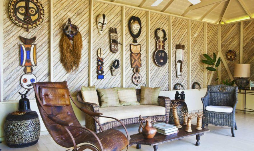Африканский стиль. Колоритная экзотика в интерьере