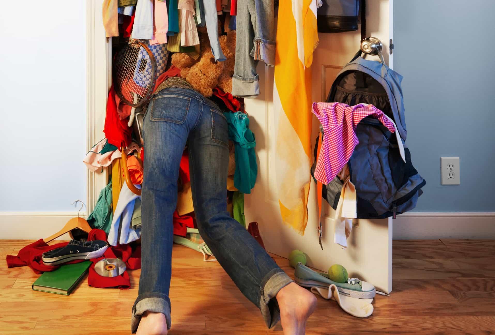 Как освободить место в своей квартире?