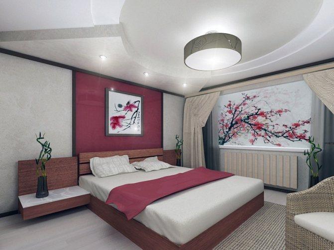 Гармония фэн-шуй в вашей спальне, как выбрать обои?
