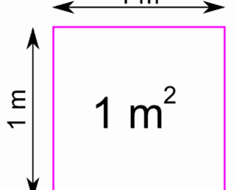 1 квадратный метр это сколько метров