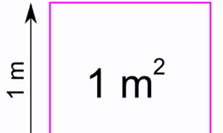 1 квадратный метр это сколько метров?