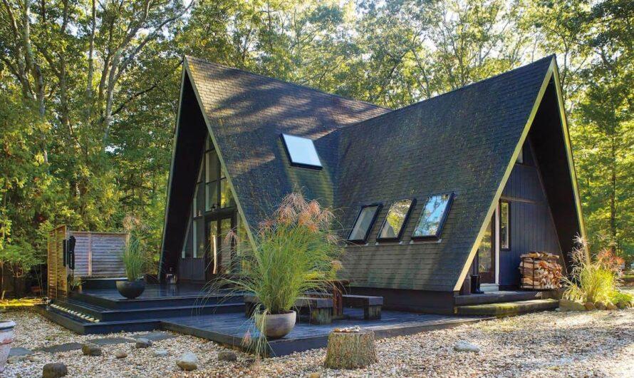 Дом-шалаш как необычный вариант загородного дома
