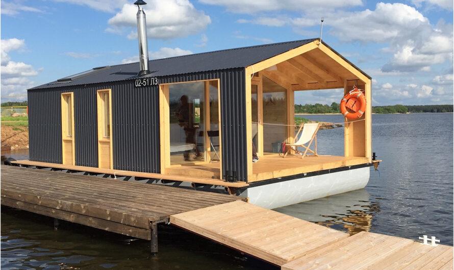 Строительство дома на воде своими руками